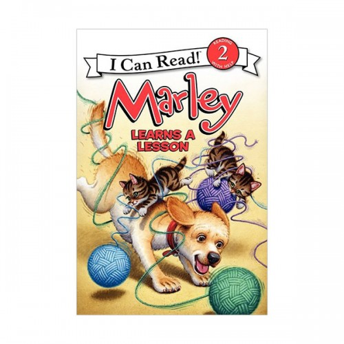 RL 2.1 : I Can Read Book Level 2 : Marley : Marley Learns a Lesson (Paperback)