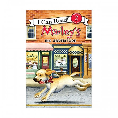 RL 2.1 : I Can Read Book Level 2 : Marley : Marley's Big Adventure (Paperback)