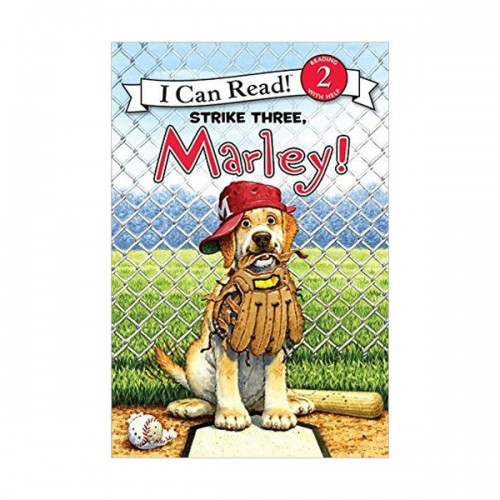 RL 2.1 : I Can Read Book Level 2 : Marley : Strike Three, Marley! (Paperback)