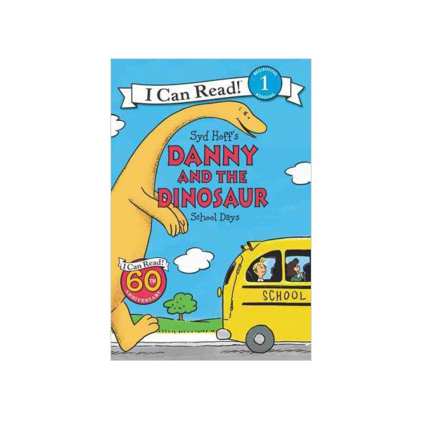 RL 2.1 : I Can Read Level 1 : Danny and the Dinosaur : School Days (Paperback)