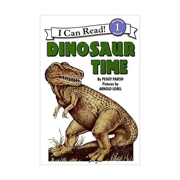 RL 2.1 : I Can Read Level 1 : Dinosaur Time (Paperback)