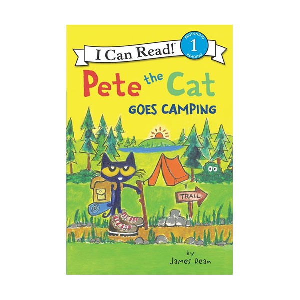 I Can Read Level 1 : Pete the Cat Goes Camping (Paperback)