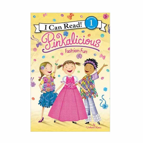 RL 2.1 : I Can Read Level 1 : Pinkalicious : Fashion Fun (Paperback)