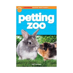 RL 2.1 : Scholastic Discover More Reader Level 1 : Petting Zoo (Paperback)