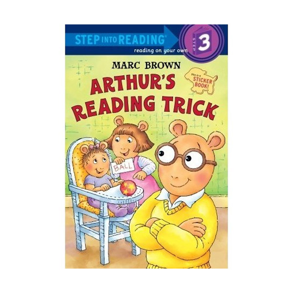 RL 2.1 : Step Into Reading 3 : Arthur's Reading Trick (Paperback)