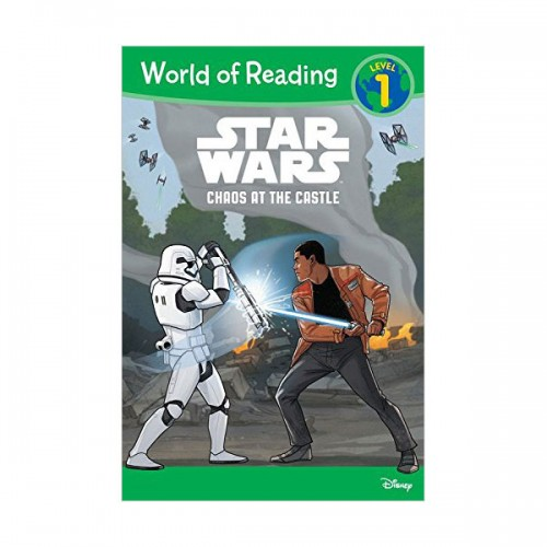 RL 2.1 : World of Reading Level 1 : Star Wars Chaos at the Castle (Paperback)