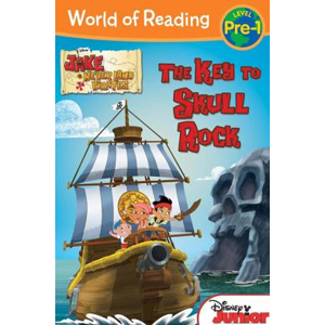 RL 2.1 : World of Reading Pre-Level 1 : Jake and the Never Land Pirates The Key to Skull Rock (Paperback)