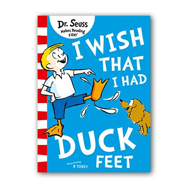 RL 2.2 : Dr. Seuss Readers : Green Back Book : I Wish That I Had Duck Feet (Paperback,영국판)