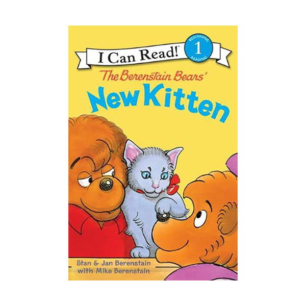 RL 2.2 : I Can Read Book Level 1 : The Berenstain Bears' New Kitten (Paperback)