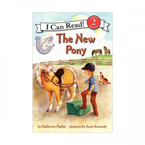 RL 2.2 : I Can Read Book Level 2 : Pony Scouts : The New Pony (Paperback)