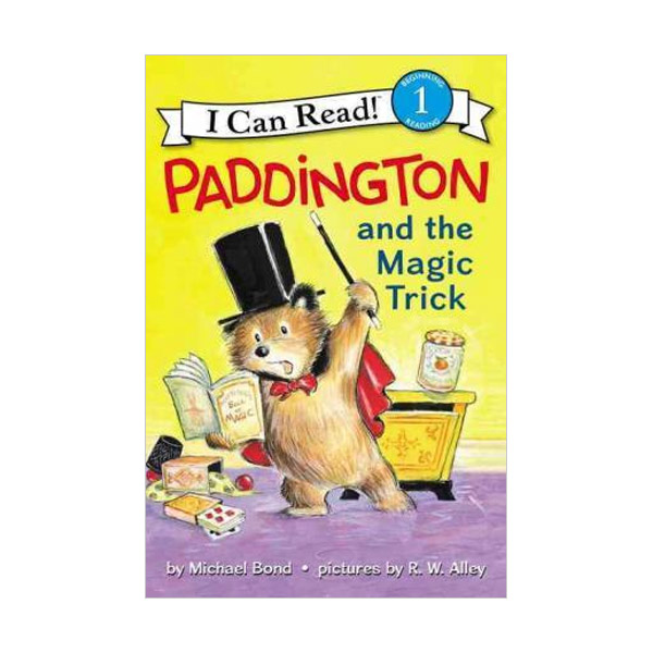RL 2.2 : I Can Read Level 1 : Paddington : And the Magic Trick (Paperback)