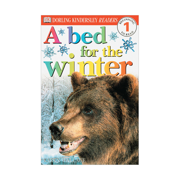 DK Readers Level 1 : A Bed For The Winter (Paperback)