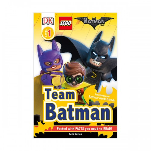 DK Readers Level 1 : Lego : The Batman Movie : Team Batman (Paperback)