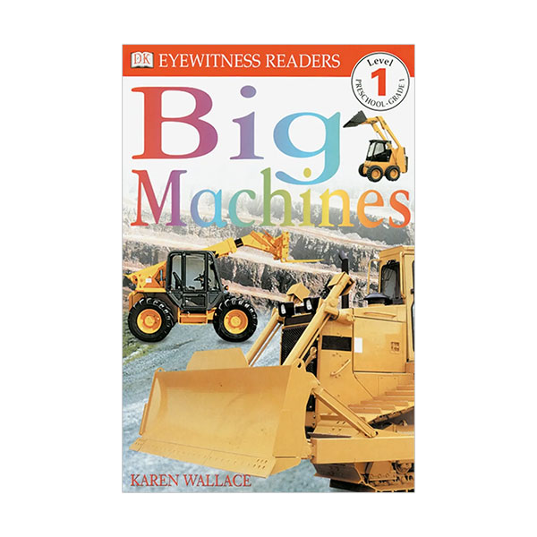 DK Readers Level 1: Big Machines (Paperback)