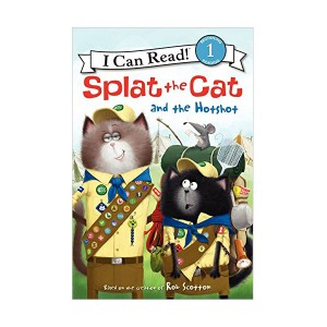 RL 2.3 : I Can Read Book Level 1 : Splat the Cat : Splat the Cat and the Hotshot (Paperback)