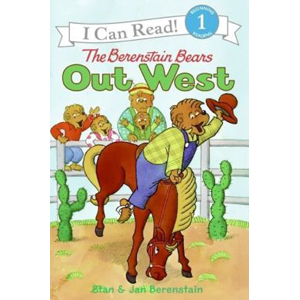 RL 2.3 : I Can Read Book Level 1 : The Berenstain Bears Out West (Paperback)