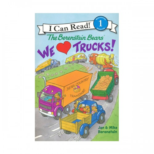 RL 2.3 : I Can Read Book Level 1 : The Berenstain Bears We Love Trucks (Paperback)