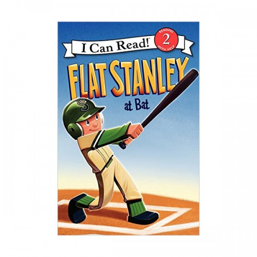 RL 2.3 : I Can Read Book Level 2 : Flat Stanley at Bat (Paperback)