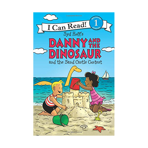 RL 2.3 : I Can Read Level 1 : Danny and the Dinosaur and the Sand Castle Contest (Paperback)