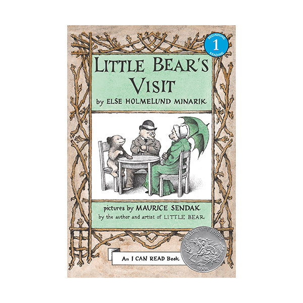 [1962 칼데콧] I Can Read Level 1 : Little Bear's Visit (Paperback)