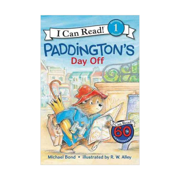 RL 2.3 : I Can Read Level 1 : Paddington's Day Off (Paperback)
