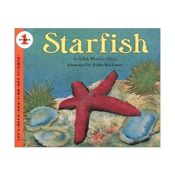 Let's Read And Find Out Science Level 1 : Starfish (Paperback)