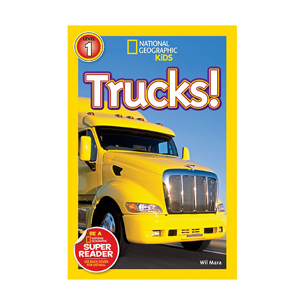 RL 2.3 : National Geographic Kids Readers Level 1 : Trucks (Paperback)