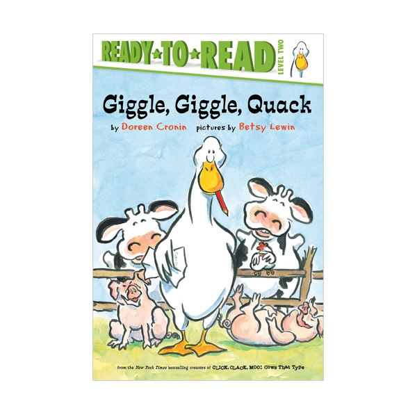 Ready To Read 2 : Giggle, Giggle, Quack (Paperback)
