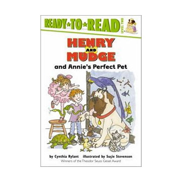 Ready To Read Level 2 : Henry and Mudge and Annie's Perfect Pet (Paperback)
