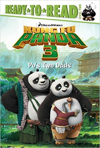RL 2.3 : Ready To Read 2 : Po's Two Dads (Kung Fu Panda 3 Movie, Paperback)