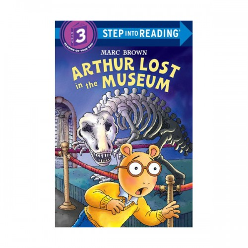 RL 2.3 : Step Into Reading 3 : Arthur Lost in the Museum (Paperback)