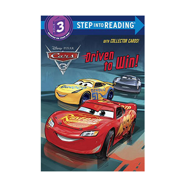 Step into Reading 3 : Disney/Pixar Cars 3 : Driven to Win! (Paperback)