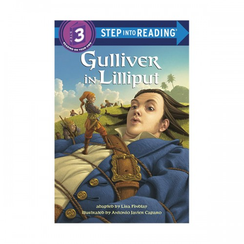 RL 2.3 : Step Into Reading 3 : Gulliver in Lilliput (Paperback)