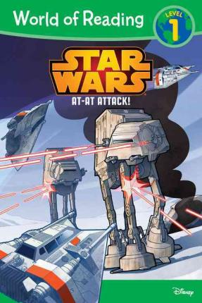 RL 2.3 : World of Reading Level 1 : Star Wars AT-AT Attack! (Paperback)