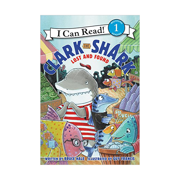 RL 2.4 :  I Can Read Level 1 : Clark the Shark : Lost and Found  (Paperback)