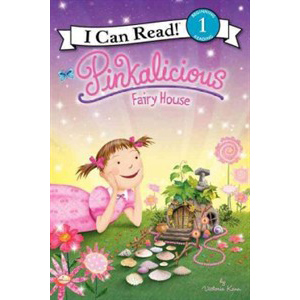 RL 2.4 : I Can Read Book Level 1 : Pinkalicious Fairy House (Paperback)