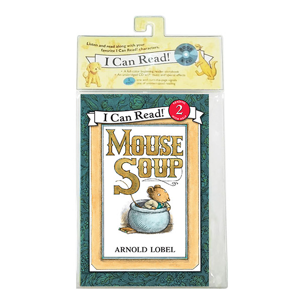 I Can Read 2 : Mouse Soup (Book&CD)