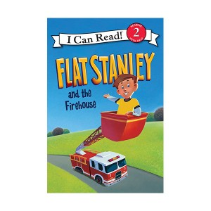 RL 2.4 : I Can Read Level 2 : Flat Stanley and the Firehouse (Paperback)