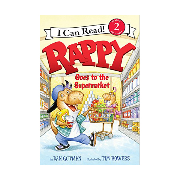 RL 2.4 : I Can Read Level 2 : Rappy Goes to the Supermarket (Paperback)