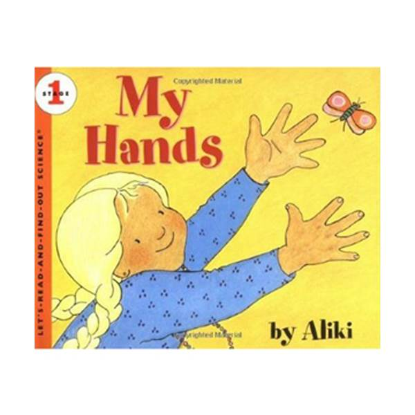 Let's Read And Find Out Science Level 1 : My Hands (Paperback)