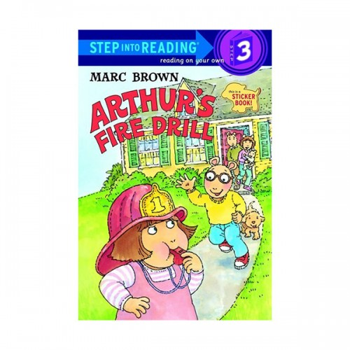 Step Into Reading 3 : Arthur's Fire Drill (Paperback)
