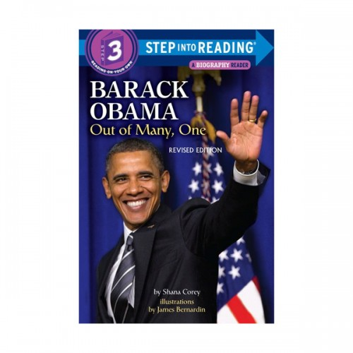 RL 2.4 : Step Into Reading 3 : Barack Obama: Out of Many, One (Paperback)