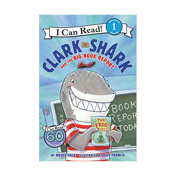 RL 2.5 :  I Can Read Level 1 : Clark the Shark and the Big Book Report (Paperback)