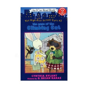 RL 2.5 : An I Can Read Book Level 2 : High Rise Private Eyes Series #2 : The Case of the Climbing Cat (Paperback)