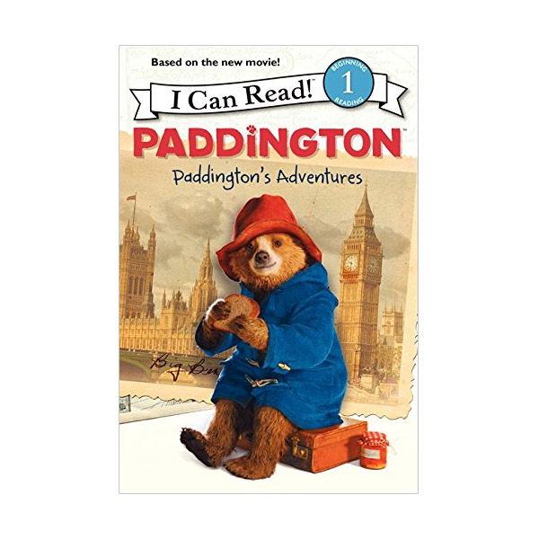 RL 2.5 : I Can Read Level 1 : Paddington : Paddington's Adventures (Paperback)