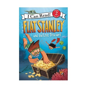 RL 2.5 : I Can Read Level 2 : Flat Stanley and the Lost Treasure (Paperback)