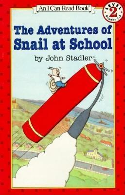 RL 2.5 : I Can Read Level 2 : The Adventures of Snail at School (Paperback)