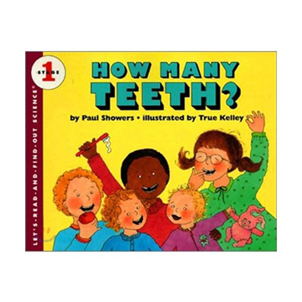 Let's Read And Find Out Science Level 1 : How Many Teeth (Paperback)