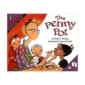 RL 2.5 : Mathstart Level 3 : The Penny Pot (Paperback)