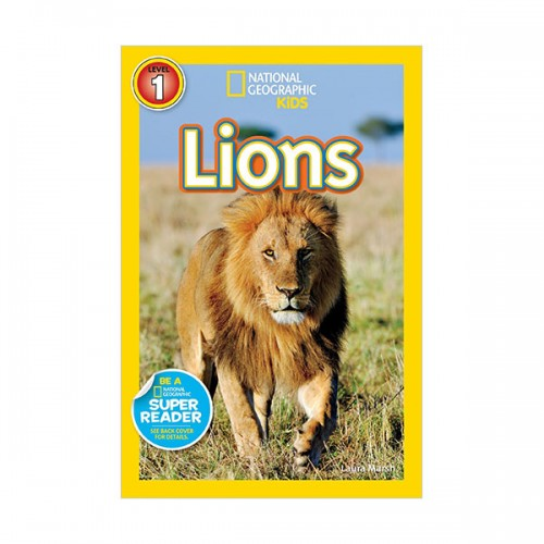 RL 2.5 : National Geographic Kids Readers Level 1 : Lions (Paperback)